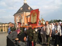 Крестный ход в Козельск 17 июля 2011