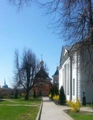 Весна в Оптиной