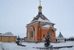 Преображенский Храм зимой
