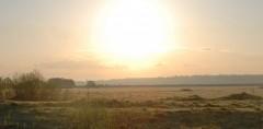 Пасхальное солнце над Оптиной