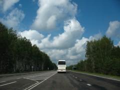 В начале нашего пути. Дорога на Елец.