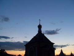 После вечернего богослужения