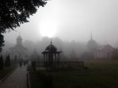 Туман после ранней Литургии 12.08.2012