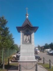 На стоянке около монастыря