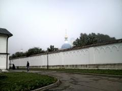 Туман в Оптиной