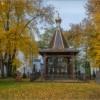 Осень в Оптиной (снимок сделан 3 октября 2016 г.)