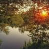 Мгновенье летнего заката (снимок сделан 31 июля 2012 г.)