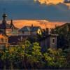 Августовский закат (снимок сделан 4 августа 2009 г.)